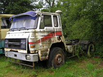 Rare tracteur de semi DODGE C-38T 300 Turbo